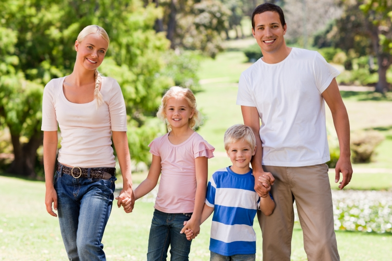 3644975-adorable-family-in-the-park
